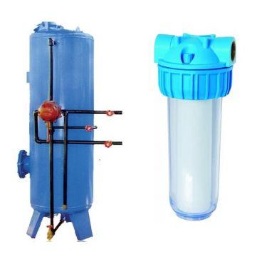مقایسه کارکرد سختی گیر و فیلتر تصفیه آب