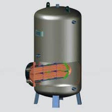 محاسبه سطح حرارتی کویل مورد استفاده در منبع کویل دار: