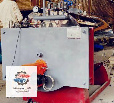 مشخصات بویلر بخار 600 کیلوگرم بر ساعت مدل CMSHSB600